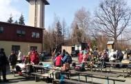 Přivítat jaro do Radíkova vyrazili turisté ze Šternberka