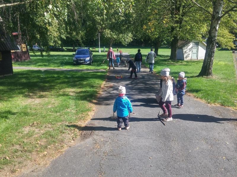 Podzimního putování se zúčastnilo přes 200 turistů