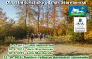 Přehled výšlapů se záznamníkem Šternbersko v roce 2019