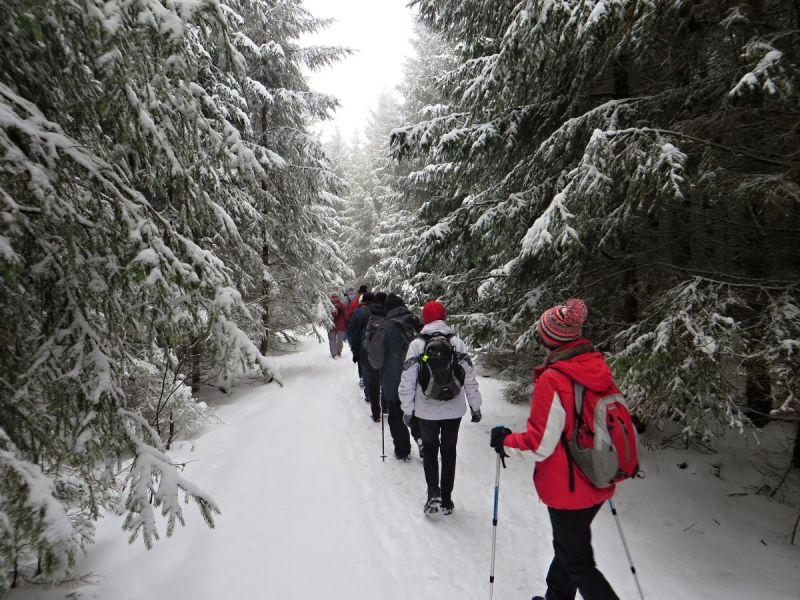 Zimní výšlap se záznamníkem Šternbersko - 9.2.2019