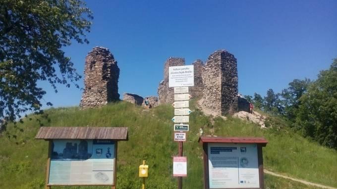 Zřícenina hradu Brníčko - 3.8.2019