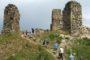 Turisté si vyšlápli na zříceninu hradu Brníčko