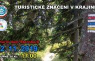 Turistické značení v krajině - 12.11.2019