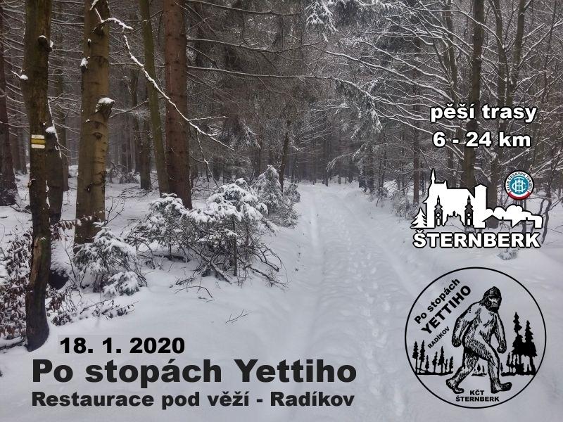 Po stopách Yettiho 2. ročník - 18.1.2020