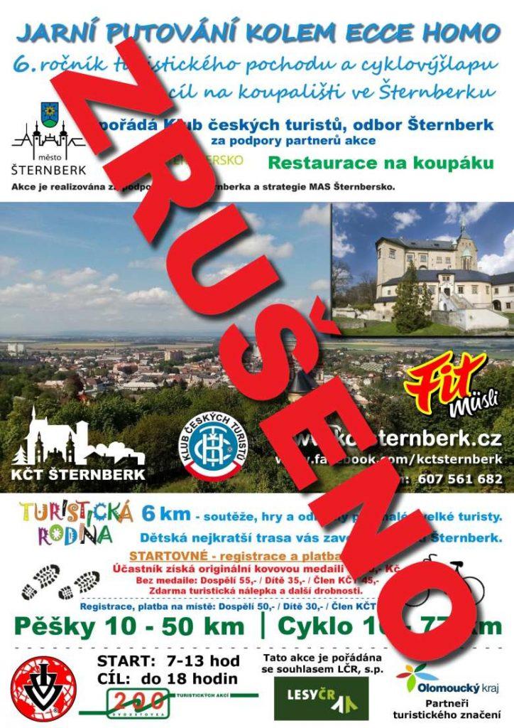 ZRUŠENO - Jarní putování kolem Ecce Homo 6. ročník - 2.5.2020